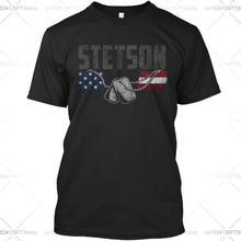 Стандартная футболка унисекс для ветеранов stetson family honors