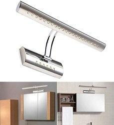 壁ランプ壁ミラー浴室 27 LED 5050 冷光クローム