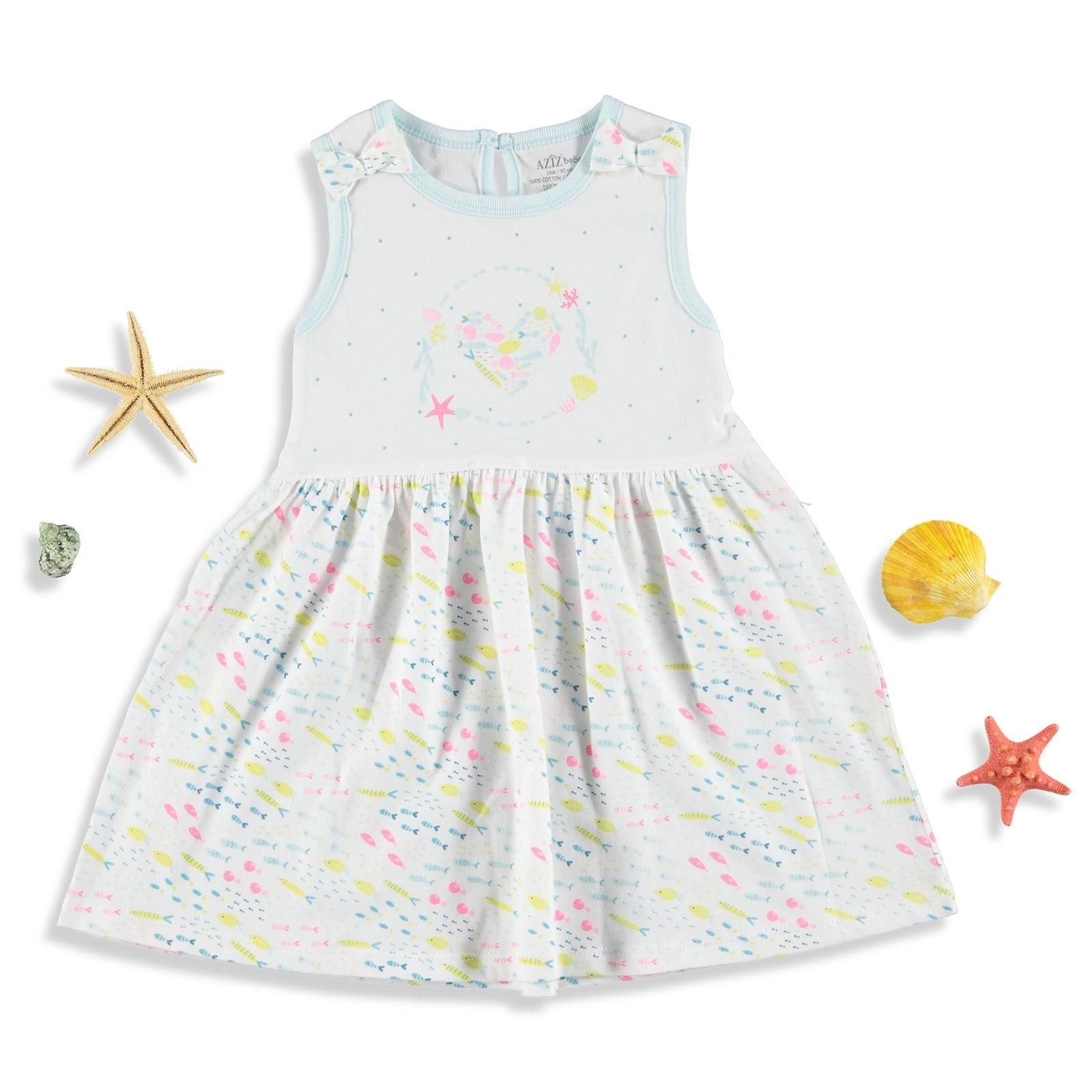 Ebebek Aziz Bebe Strawberry Baby Girl Dress