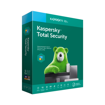 Kaspersky Total Security Russian Edition 2 PC 1 KPM account 1 KSK account 1 year license renewal download package kl1949rdbfr