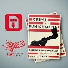 Crime and Punishment A New Translation by Fyodor Dostoevsky Michael R. Katz Ebook Reader