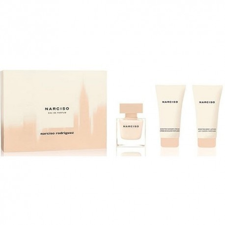 NARCISO RODRIGUEZ NARCISO EDP 50ML + SHOWER GEL 50ML + 50ML