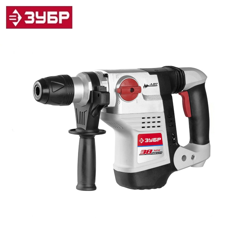купить Perforator SDS-Max, ZUBR ZPM-38-1100 EK, J. 8, 300-600 rev / min, 1950-3900 beats / min, 8 kg, 1100W, case holes drilling дешево