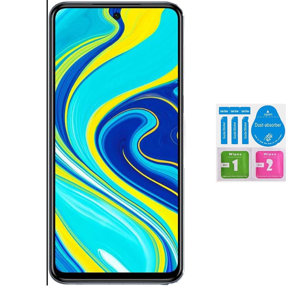 1x Tempered Glass Protector For For XIAOMI REDMI NOTE 9S Generico Not Cover The Entire Screen