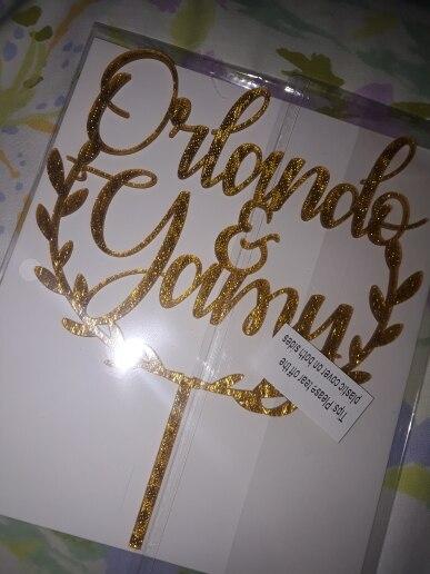 Materiais p/ decoração de bolo Personalizado Personalizado Casamento