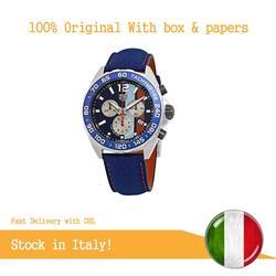 Tag Heuer formuła 1 wyścigi Gulf wydanie specjalne orologio CAZ101 N. FC8243|Zegarki mechaniczne|Zegarki -