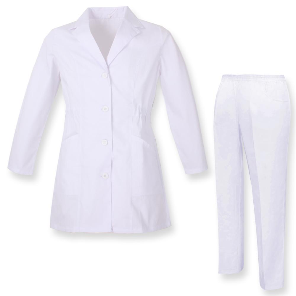 Robe Laboratory And PANT NECK REFURBISHED Sanitaries UNIFORMS UNIFORM MEDICOS-Ref.81638