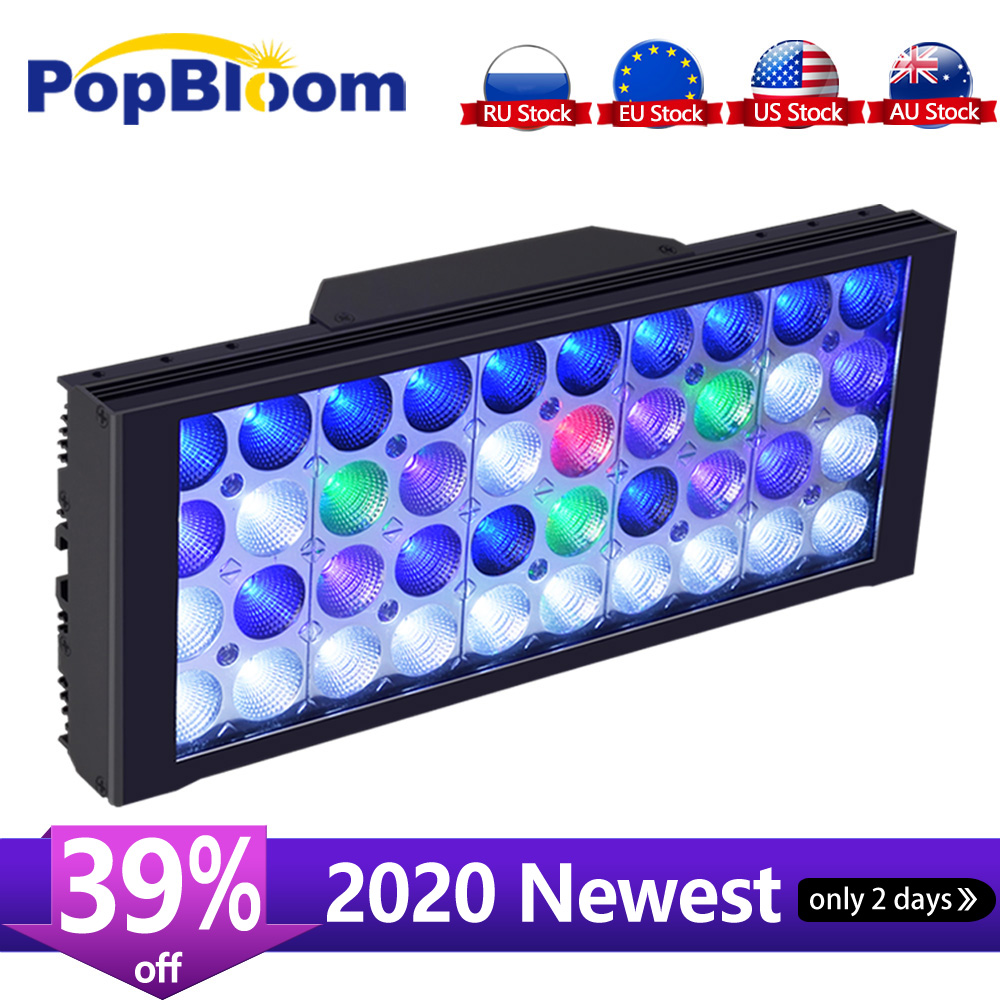 Image 1 - PopBloom Aquarium Lighting controller Aquarium Led Lighting Lamp for Aquarium Led Light For Aquarium Marine Coral Reef Fish Tankaquario ledaquarium aquariumled aquarium light fish -