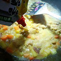 椰汁咖喱鸡的做法图解7