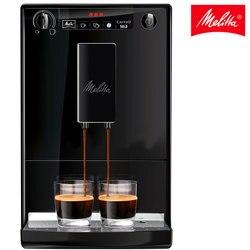 Cafetera automática Melitta Caffeo Solo 950-222, máquina de café express eléctrica con molinillo integrado, fácil de usar, negro