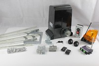 JY 2000ACP Sliding Gate Operator Kit with control unit and 2 remotes, mounting plate