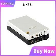 Topping nx3s portátil usb amplificador de auscultadores opa2140 ime49720 mini amplificador de fone de ouvido de alta fidelidade áudio 3.5mm cobertura nx3