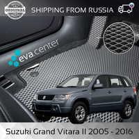 Car Mats EVA for Suzuki Grand Vitara II 2005-2016 set of 4x mats and jumper