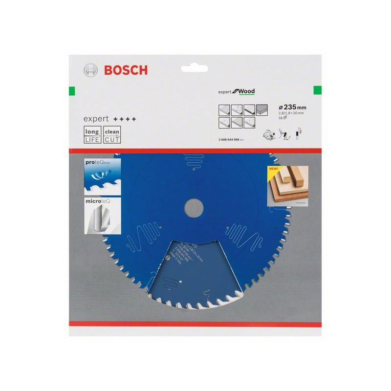 BOSCH-circular Saw Blade Expert For Wood 235x30x2,8mm 56