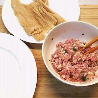 """#美食说出""""新年好""""#老少皆宜味道鲜美~竹荪酿肉的做法图解1"""