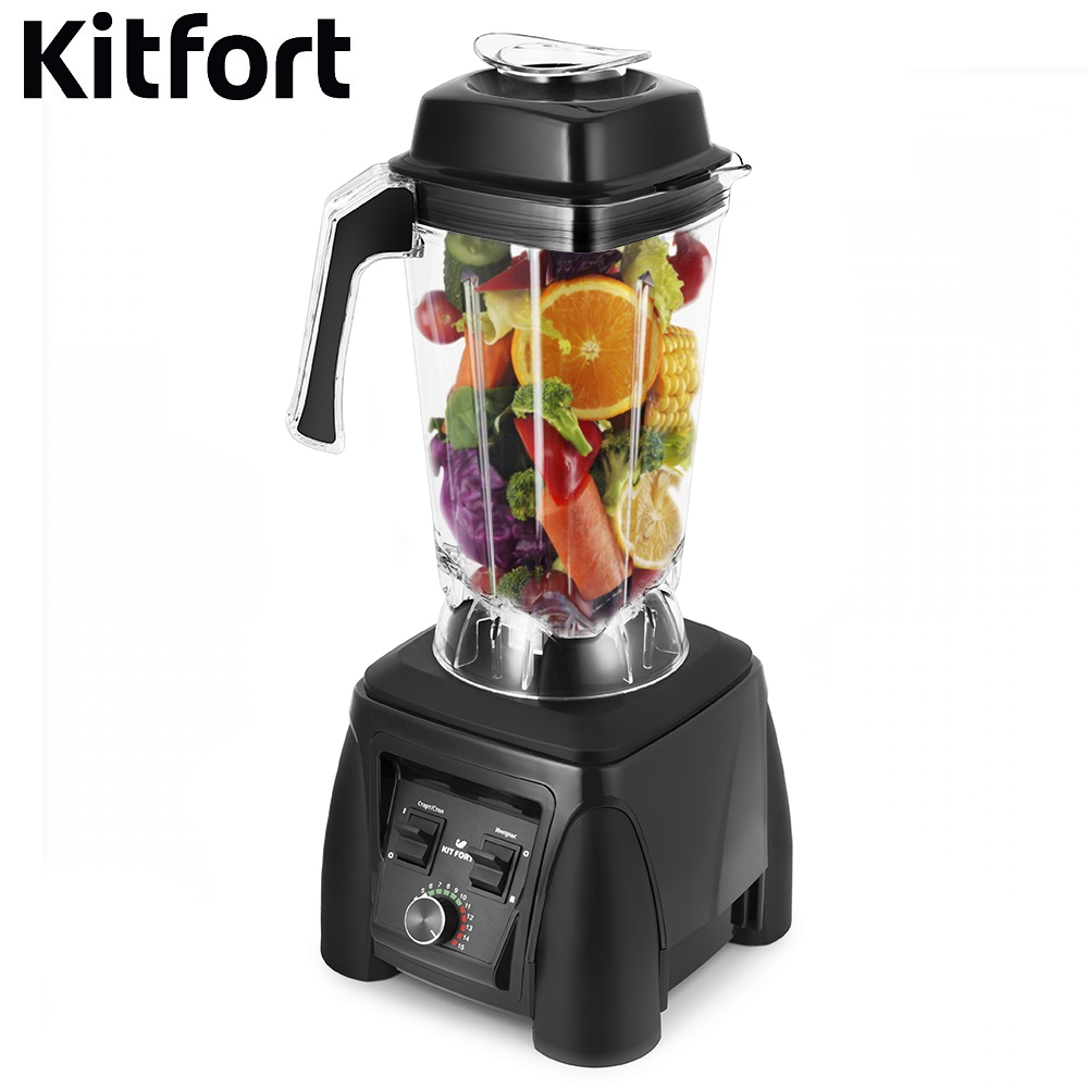Blender Kitfort KT-1360 Blender smoothies kitchen Juicer Portable blender kitchen Cocktail shaker Chopper Electric Mini blender blender xp