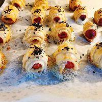 """香肠一口酥#美食说出""""新年好""""#的做法图解6"""