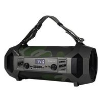 Portable Bluetooth Speakers Boombox NGS Street Force LED 4400 mAh 150W Camouflage