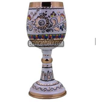 Şarap bardağı atış metalowy Retro yaratıcı küçük likör kupası altın avrupa tarzı KDH-103 tanie i dobre opinie TR (pochodzenie)