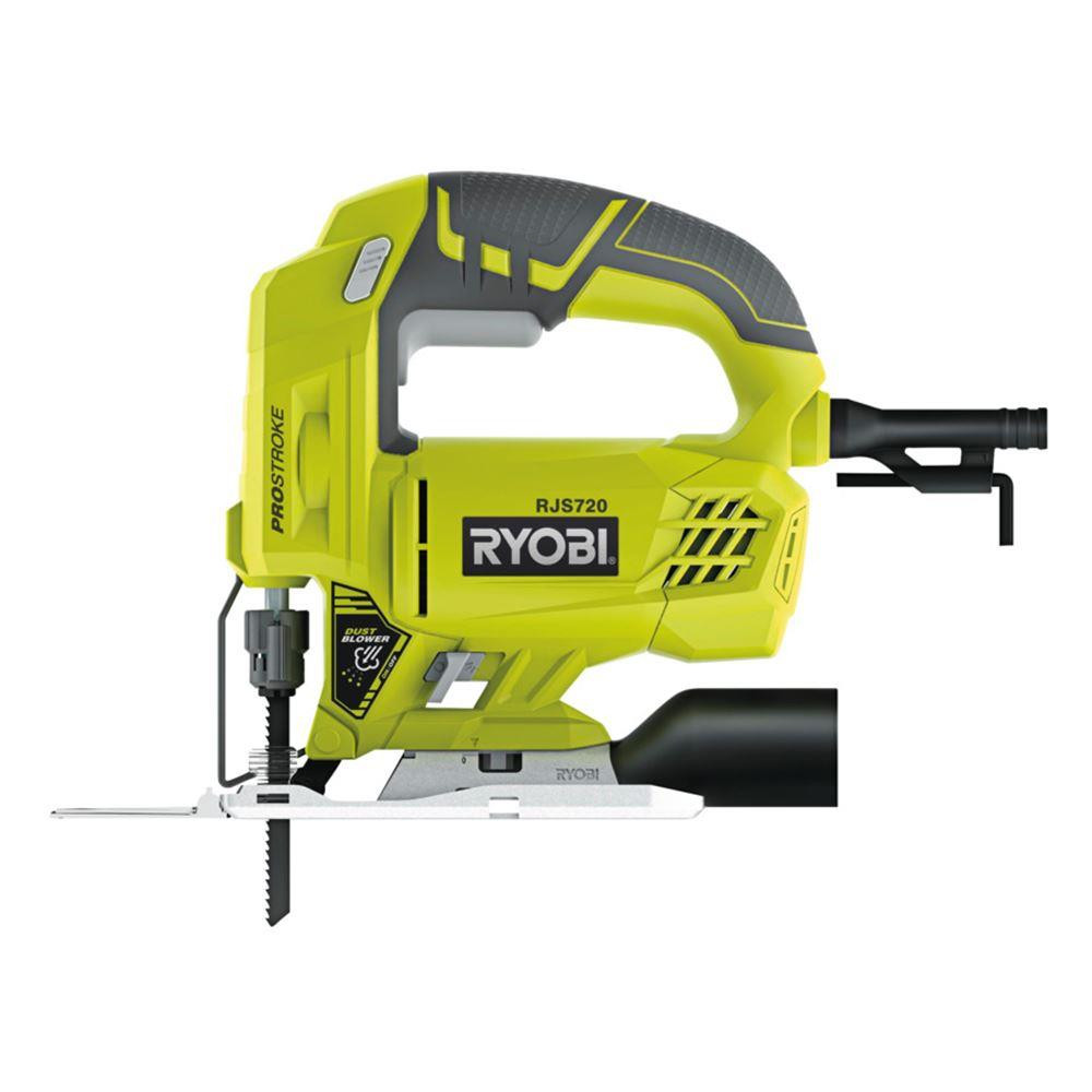 Udc3ed4c040e241bc8029fda6d3674080f - Ryobi RJS720G 500 Watt Jig Saw. Electric Scroll saw machine. Wired wooden hand saw