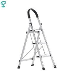 95674 Barneo ST-23 Ladder aluminium 3 stappen van enkele side max belasting 150 kg gratis verzending naar Rusland