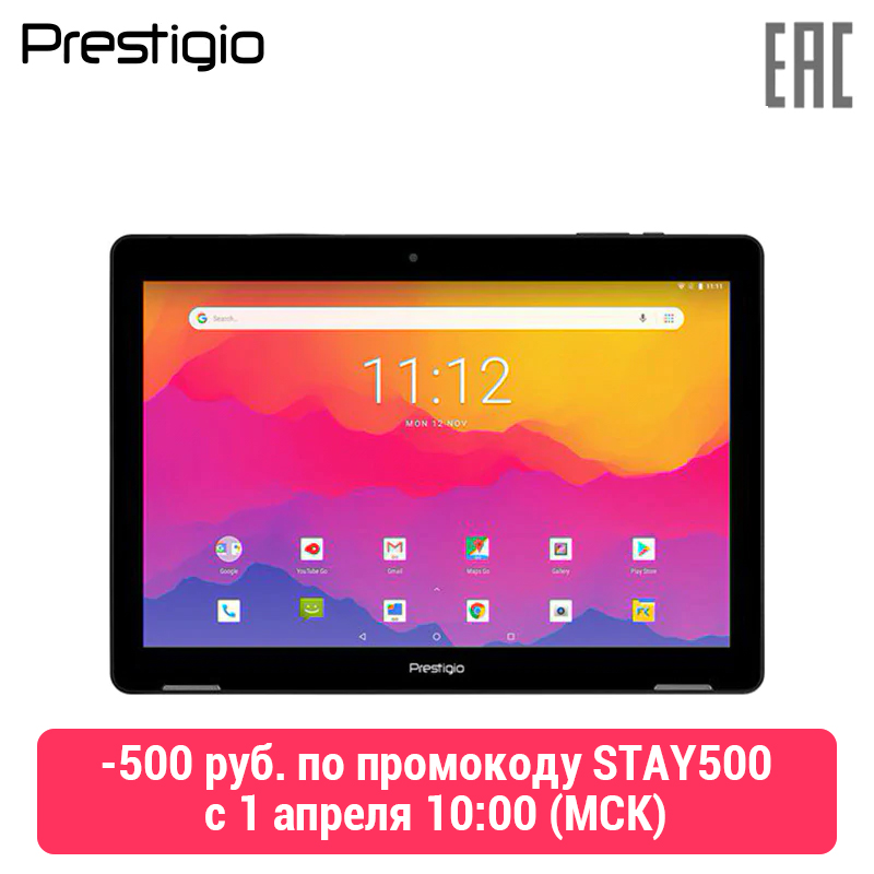 Tablet Prestigio Wize 3761 3G, Single Micro-SIM, 10.1