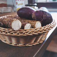 零失败❗️山药紫薯糕的做法图解1