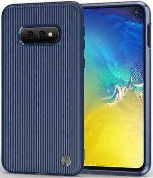 Case Samsung Galaxy s10e color blue (blue), Bevel series, caseport