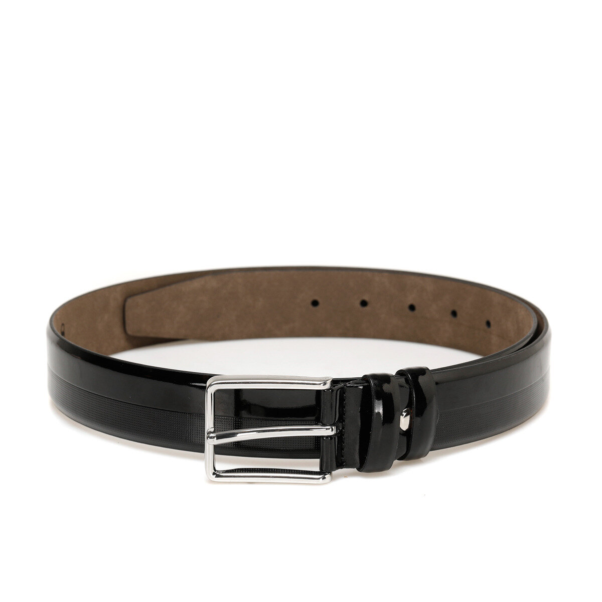 FLO 20M BR CO Black Male Belt Garamond