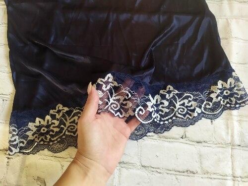 Fashion Sexy Sleepwear Large Size Night Dress Lingerie Women Purple Blue Nightwear Sexy Lace Temptation Underwear Nightdress photo review