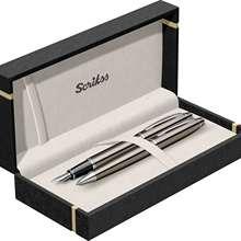 Set Fountain Pen - Ballpoint Pen Noble 35 Titanium CT