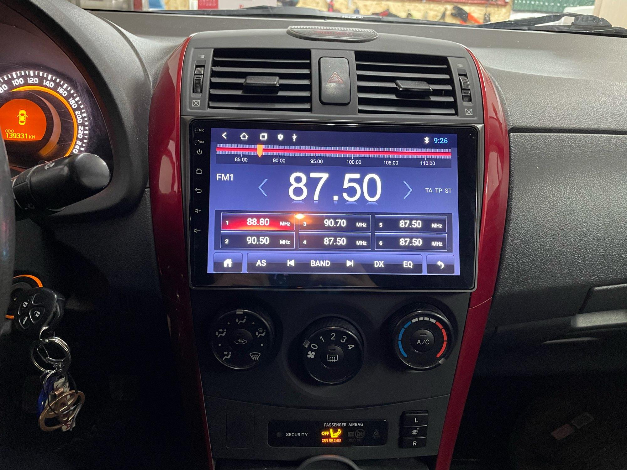 Android 10.0 2g + 32g dsp rádio do carro Multimedia gps navegação para Toyota Corolla