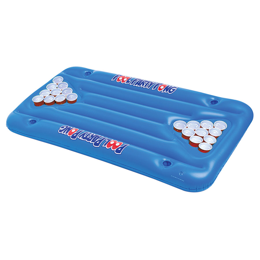 Inflatable Mattress For Party Pong Game