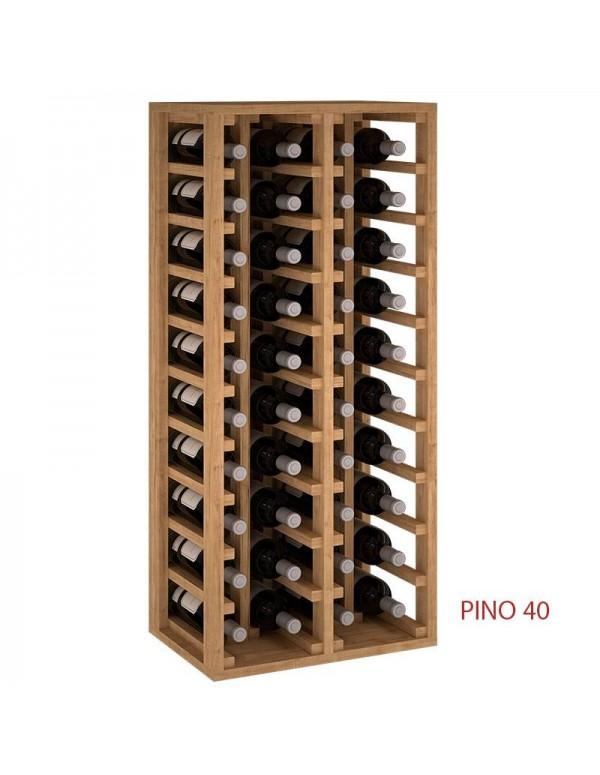 Botellero En Columna 40 Botellas