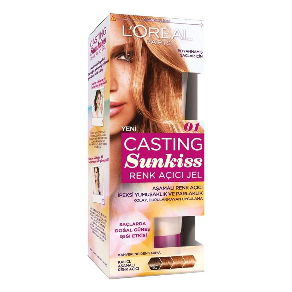 L'OREAL PARIS CASTING Loreal Casting Sunkiss Color Lightening Gel 01