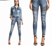 Close fitting jeans Denim LOTFEEL