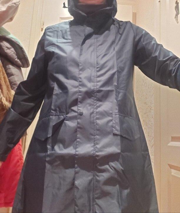 Capas de chuva impermeável bolsos poncho