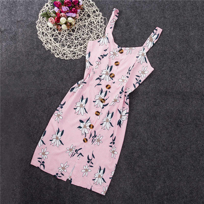 Bloemen Streep Bandage Bodycon Jurk Vrouwen Elegante Slanke Mode Vierkante Hals Partij Jurk