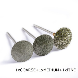 Image 5 - NEW 80/120/180# Nail Drill Bit Diamond pedicure polishing Cap Foot Callus Cuticle Cutters Burr Bits Manicure Accessories Milling