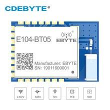 TLSR8266 Bluetooth BLE4.2 UART SMD Transceiver E104 BT05 70m Slave przezroczysta transmisja niskiej mocy moduł bezprzewodowy