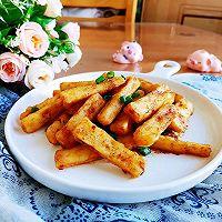 咸蛋黄焗山药~完爆薯条!的做法图解15