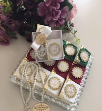 30 (шт) бесплатно shippİng-мини Коран и tasbîh -- i, мусульманская свадьба, мусульманская свадьба, подарки hajj, Коран подарки