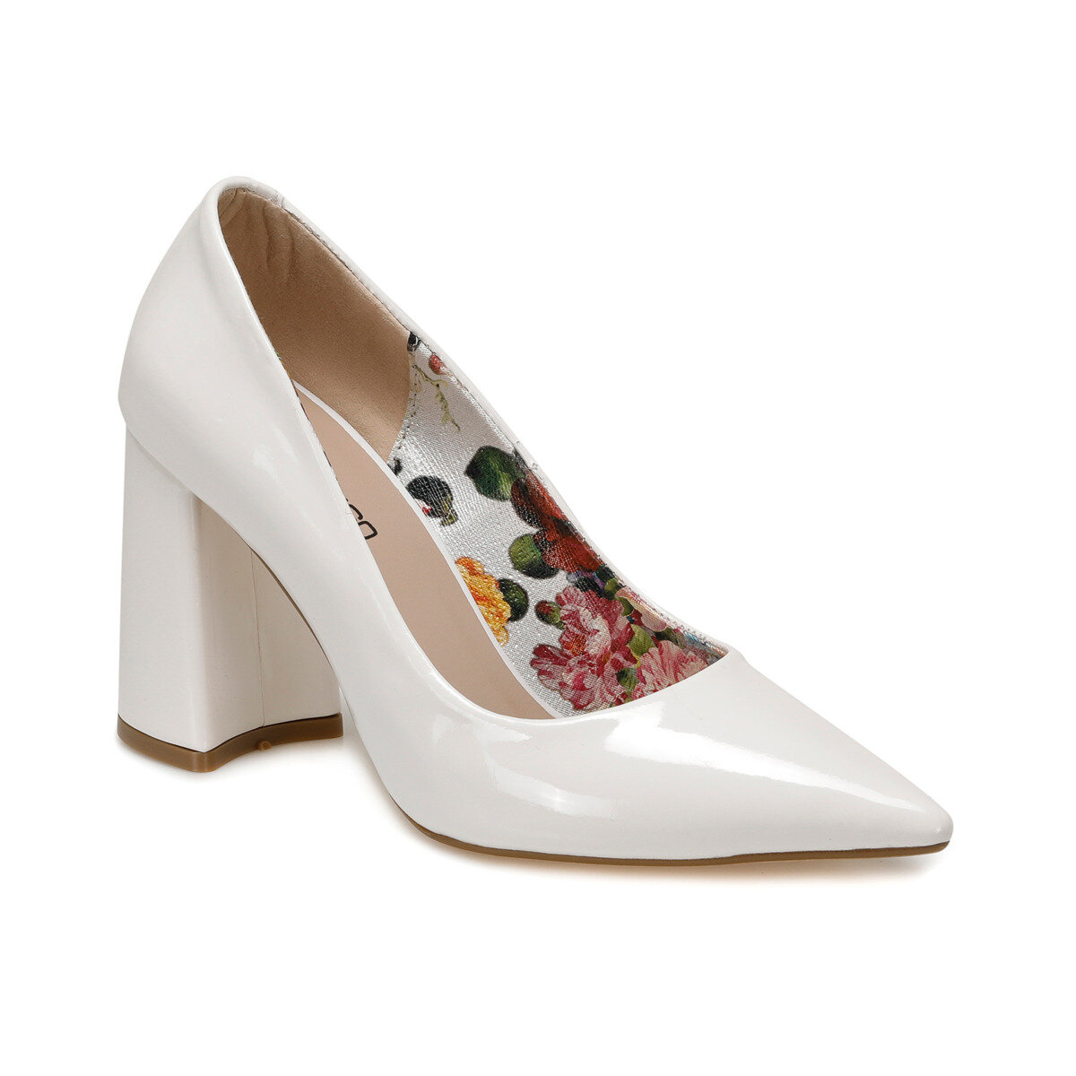 FLO BONNİE White Women 'S High-Heeled Shoes BUTIGO title=