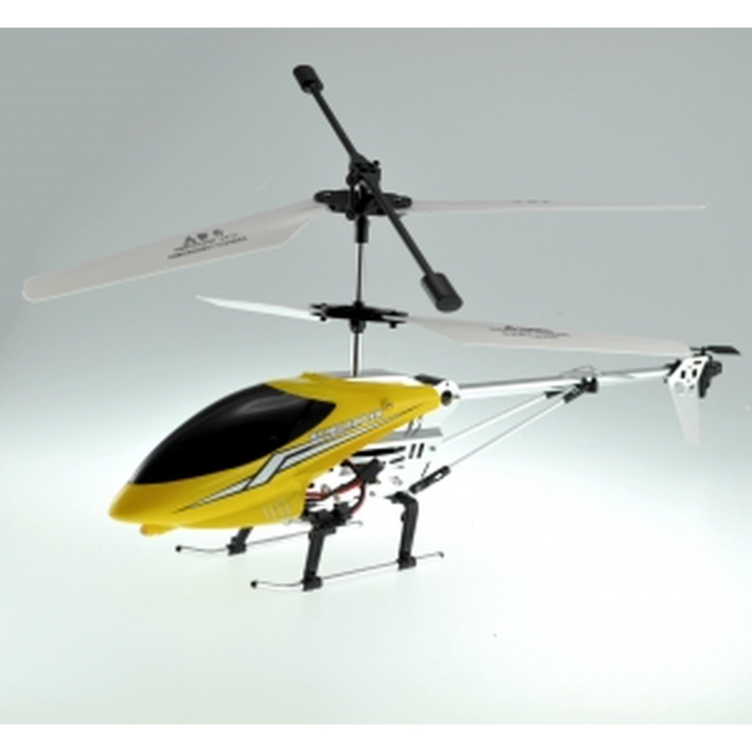 RC HELICOPTER MODEL CF009 (YELLOW), 3.5 CHANEL, GYROSCOPE, METAYELLOWIC AMETALLIC BLU
