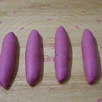 火龙果魔法棒面包的做法图解6