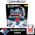 Finish Quantum Max Spülmaschine Waschmittel 58 Kapsel