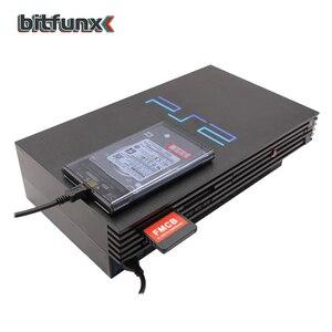 "Image 5 - Bitfunx PS2 FMCB Karte für USB spiele + 2.5 ""SATA HDD Festplatte mit PS2 spiele in Hard disk Fall USB 3,0"