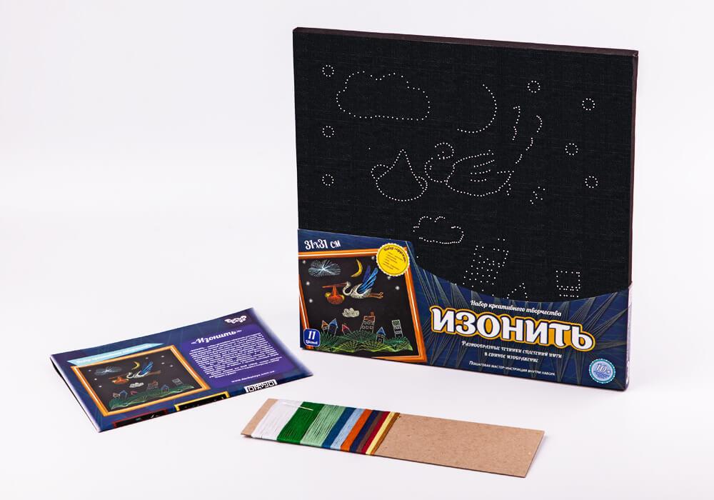 Isonite Stork, a set for creative creativity Danko-toys izn-01-08