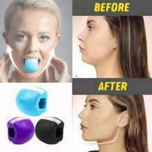 Jaw Training Device Silicone Adjustable Facial Muscles Shaper Mouth Exercise Machine Mandibular Trainer Face Jaw Exerciser