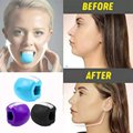 Устройство для тренировки челюсти, силиконовая Регулируемая форма и рот, уменьшение морщин, упражнения для мышц лица, мандибулярный тренаж...
